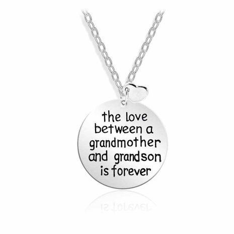hot sale The love between a grandmother love mother's day necklace accessories wholesale nihaojewelry NHMO229283's discount tags