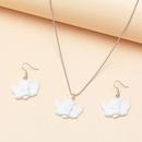 jewelry Baroque Cupid angel necklace wild round bead chain wholesale nihaojewelry NHNZ229352