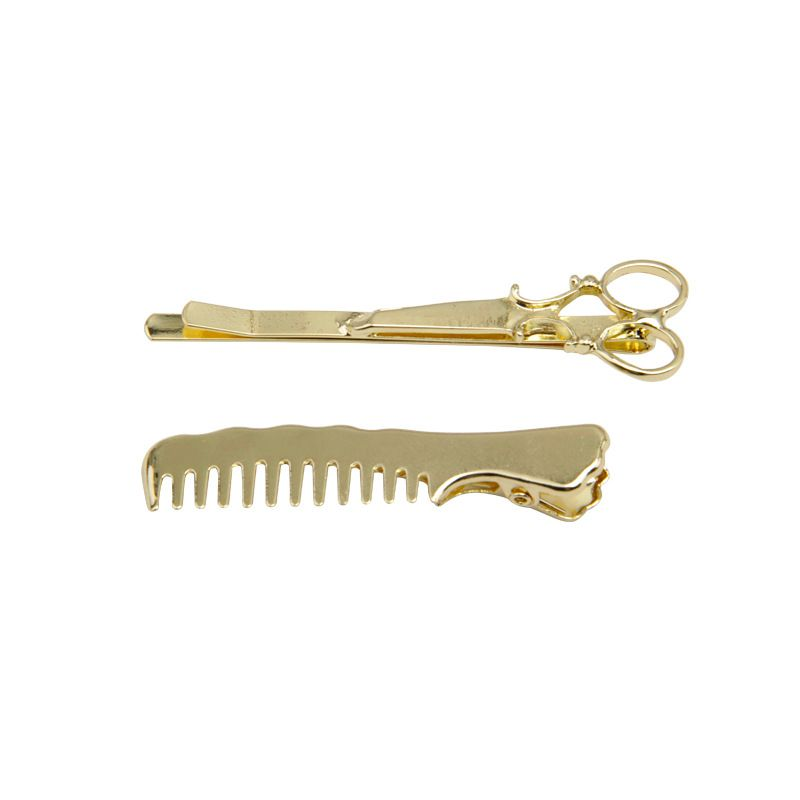 Retro simple bangs clip word clip adult hair clip side clip girl headdress set NHNT229447