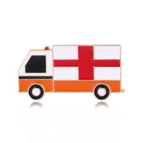 Broche de goteo de aleación de ambulancia de ramillete médico simple de moda caliente al por mayor nihaojewelry NHDR229630's discount tags