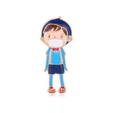 broche de dibujos animados de moda caliente niño pequeño goteo broche de aceite venta caliente accesorios occidentales venta al por mayor nihaojewelry NHDR229635's discount tags