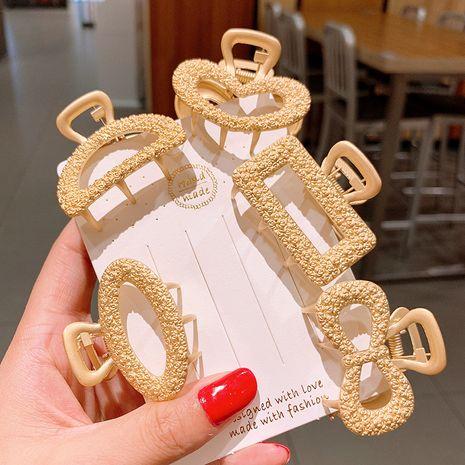 Pince à cheveux en métal requin grand bain cheveux saisir élégante coiffe coréenne en gros nihaojewelry NHSA229647's discount tags