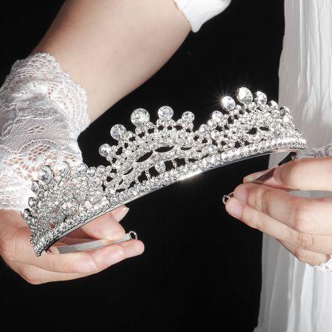 retro bride crown luxury baroque birthday crown wedding photography wedding wholesale nihaojewelry NHHS229698's discount tags