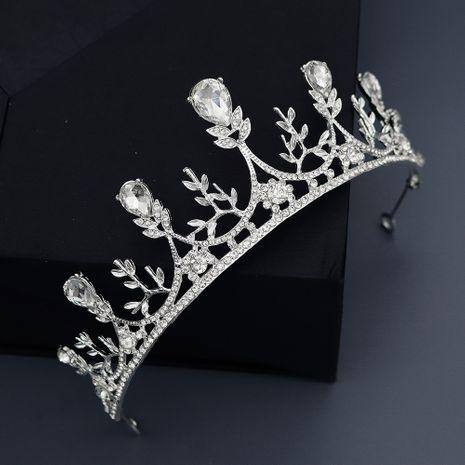 new semi-circular crown bride crown fairy wedding dress headdress hair jewelry wholesale NHHS229723's discount tags