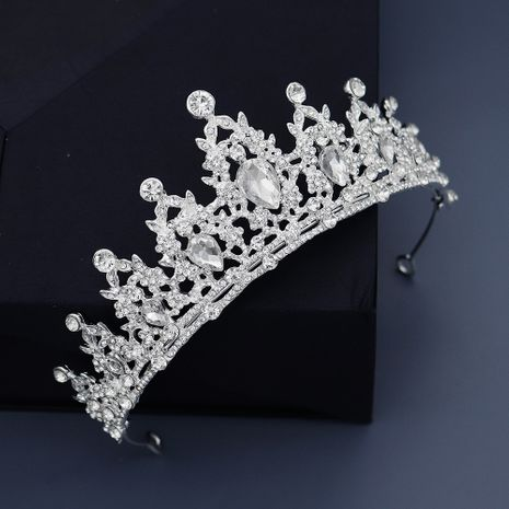 Amazon Explosion Crown Classic Baroque Retro Hair Accessories Luxury Diamond Bridal Wedding Accessories Photo Headdress NHHS229727's discount tags