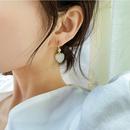 Simple love earrings new earrings S925 silver earrings wholesale nihaojewelry NHXI229761