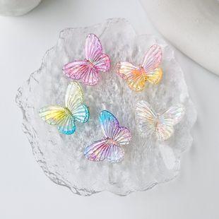 Mariposa tocado niña colorida mariposa pinza de pelo al por mayor nihaojewelry NHMS229832's discount tags
