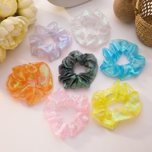 Color hair scrunchies mermaid hair ring sweet forest hair rope girl root large intestine ring French head rope hair accessory wholesale nihaojewelry NHMS229838's discount tags