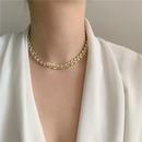 metal chain diamond choker clavicle neck chain bracelet jewelry wholesale nihaojewelry NHYQ229982