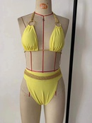 nouvelle mode sexy bikini split maillot de bain taille haute tress sexy bikini nihaojewelry gros NHHL222043
