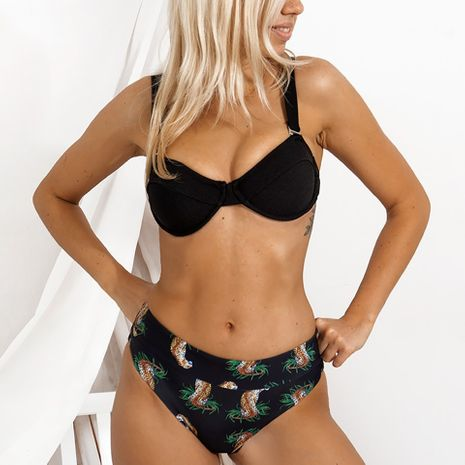 nouvelle mode simple dames sexy split bikini maillots de bain pour femmes tissu spécial bikini niahojewelry en gros NHHL222044's discount tags