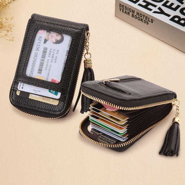 women's wallets with tassel organ card holder wholesale nihaojewelry NHBN222073