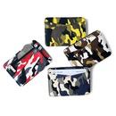 Korean fashion creative camouflage PU leather magic bag new zipper coin purse mini wallet flip thin wallet wholesale nihaojewelry NHBN222087