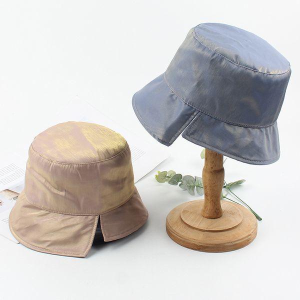 Sombrero verano moda plegable sol sombrero viaje compras casual salvaje delgado pescador sombrero al por mayor nihaojewelry NHXO222123