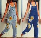 hot sale ladies printed suspenders ew cute sunflower suspenders wholesale nihaojewelry NHYF222152