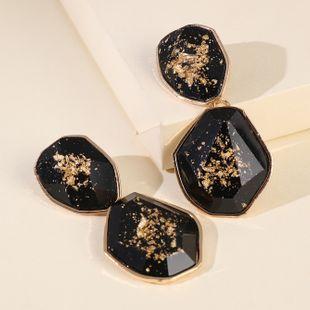 New Products Fashion Big Earrings Simple Acrylic Pendant Earrings wholesale nihaojewelry NHJJ229994's discount tags