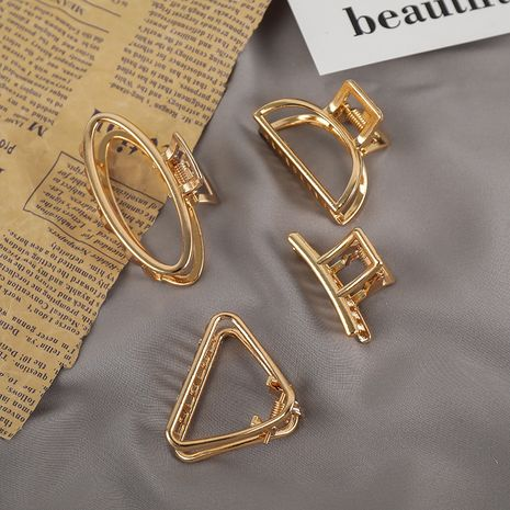 La nouvelle épingle à cheveux en métal de la Corée à l'arrière de la pince à tête simple fille coiffure accessoires pour cheveux en gros nihaojewelry NHNA230016's discount tags