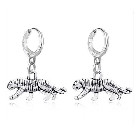 vente chaude rétro punk léopard pendentif cerceau boucle d'oreille animal boucle d'oreille boucle d'oreille en gros nihaojewelry NHGO230098's discount tags