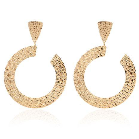 exagéré géométrique boucles d'oreilles en métal bijoux boucles d'oreilles de mode en gros nihaojewelry NHCT230211's discount tags