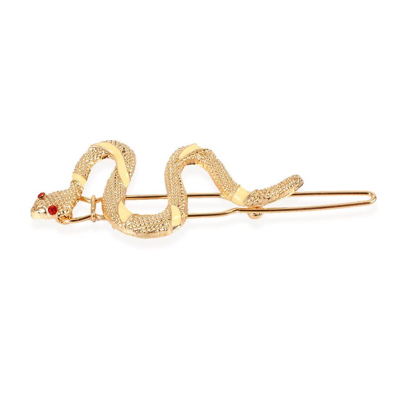 fashion metal snake-shaped hair accessories new style edge clip exaggerated wholesale nihaojewelry NHCT230213