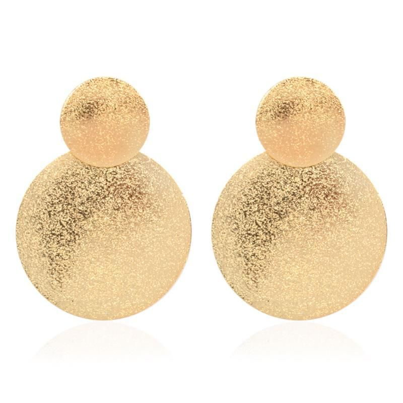 fashion style geometric alloy earrings creative boho earrings wholesale nihaojewelry NHCT230215