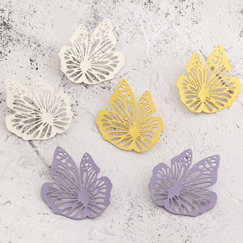 fashion jewelry retro French hollow paint earrings high sense earrings wholesale nihaojewelry NHNZ230258