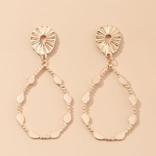 fashion jewelry creative retro drop-shaped earrings ethnic style earrings wholesale nihaojewelry NHNZ230277's discount tags