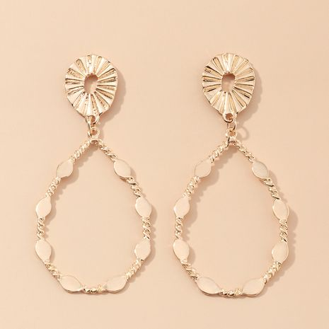 bijoux de mode créative rétro boucles d'oreilles en forme de goutte boucles d'oreilles de style ethnique en gros nihaojewelry NHNZ230277's discount tags
