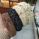 fashion  new korean simple  crumpled knotted hair hoop style pleated headband wholesale nihaojewelry NHUX222365