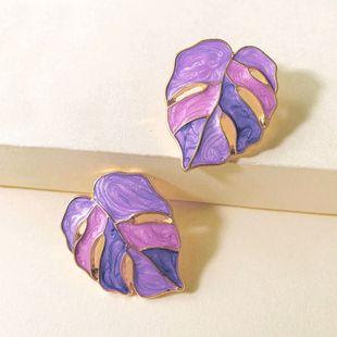 new pull flower drop oil earrings exquisite ladies summer trend earrings wholesale nihaojewelry NHJJ222381's discount tags