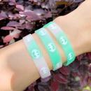 bracelet Batman silicone bracelet custom logo custom luminous sports basketball wristband wholesale nihaojewelry NHAS222419