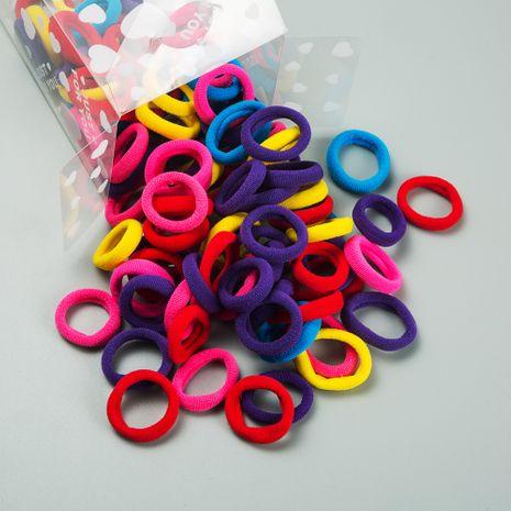 Accesorios para el cabello para niños Corea en caja pequeña banda de goma cuerda para el cabello del bebé joyería para niñas fuerte tirón constante anillo para el cabello pequeño anillo elástico al por mayor nihaojewelry NHLN222454's discount tags