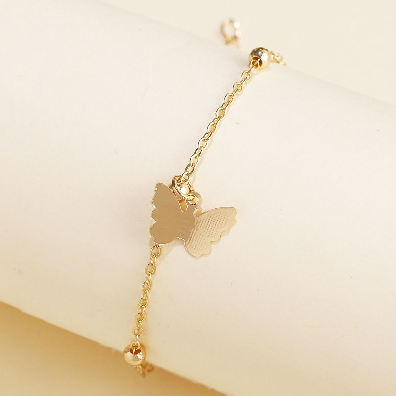 Butterfly Wild Fashion Bracelet Korea's new girl jewelry small jewelry wholesale nihaojewelry NHJJ222471