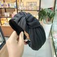 NHUX713649-Black-crumpled-knotted-headband