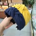 NHUX713652-Yellow-crumpled-knotted-headband
