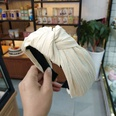 NHUX713654-Beige-crumpled-knotted-headband