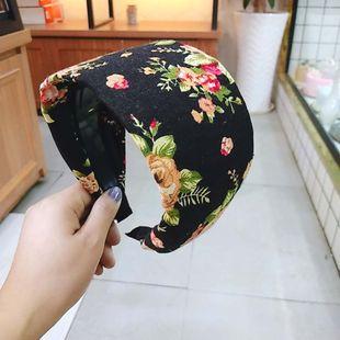 moda coreana nuevas flores retro diadema de estilo simple al por mayor nihaojewelry NHUX222521's discount tags