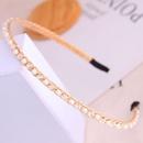 Style coren mode sauvage simple et dlicat cristal perle personnalit dames bandeau  accessoires de cheveux bandeau en gros niihaojewelry NHSC223417