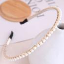 Style coren mode sauvage simple et dlicat perle dames simple bandeau cheveux accessoires bandeau en gros niihaojewelry NHSC223420