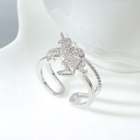 AAA grade zircon anneau en gros mode femmes licorne amour boucles d'oreilles NHPS222631's discount tags