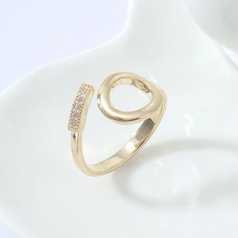 AAA bague en zircon mode anneaux en forme de coeur femmes NHPS222640's discount tags