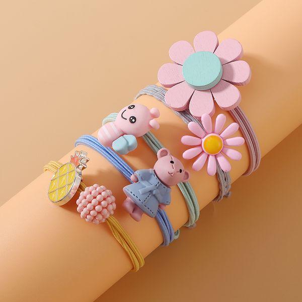fashion hair scrunchies set simple small fresh sweet cute wild hairband set NHPS222654