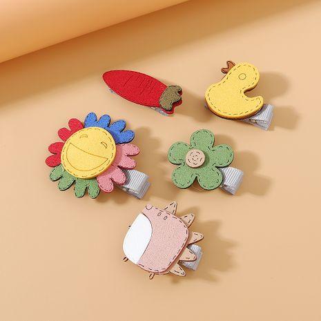 Juego de pinzas para el cabello coreanas al por mayor pequeño y fresco conjunto de horquilla dulce dulce simple NHPS222656's discount tags
