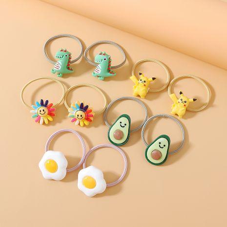 Gomas para el cabello coreanas para niños conjunto de pequeñas hadas salvajes y pequeñas y dulces NHPS222660's discount tags