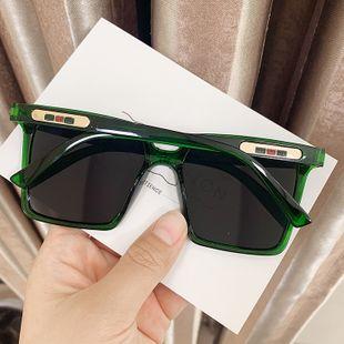 square new Korean  retro large frame sunglasses ladies street shot sunglasses nihaojewelry wholesale NHKD222812's discount tags
