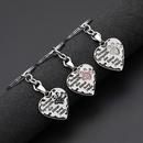 fashion  lettering No LongerByMySide loving dog paw key chain accessories nihaojewelry wholesale NHMO222852
