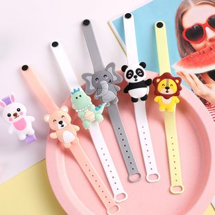 Cartoon plant essential oil mosquito repellent bracelet cute anti-mosquito bracelet mosquito repellent buckle portable portable mosquito repellent ring NHHE222739's discount tags