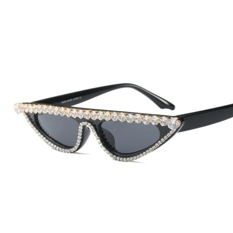 fashion new  exquisite small frame rhinestone  trend  sunglasses nihaojewelry wholesale NHFY222770's discount tags