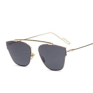 fashion simple new  metal sunglasses trend colorful sunglasses street shot sunglasses nihaojewelry wholesale NHFY222772's discount tags