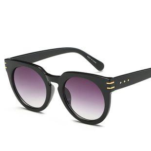 fashion big frame sunglasses Korean  real film bright sunglasses street shooting wild sunglasses nihaojewelry wholesale NHFY222778's discount tags